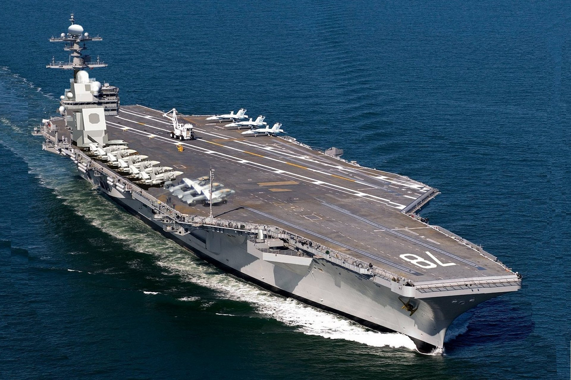 aircraft carrier USS Ronald Reagan reach at South Korea
