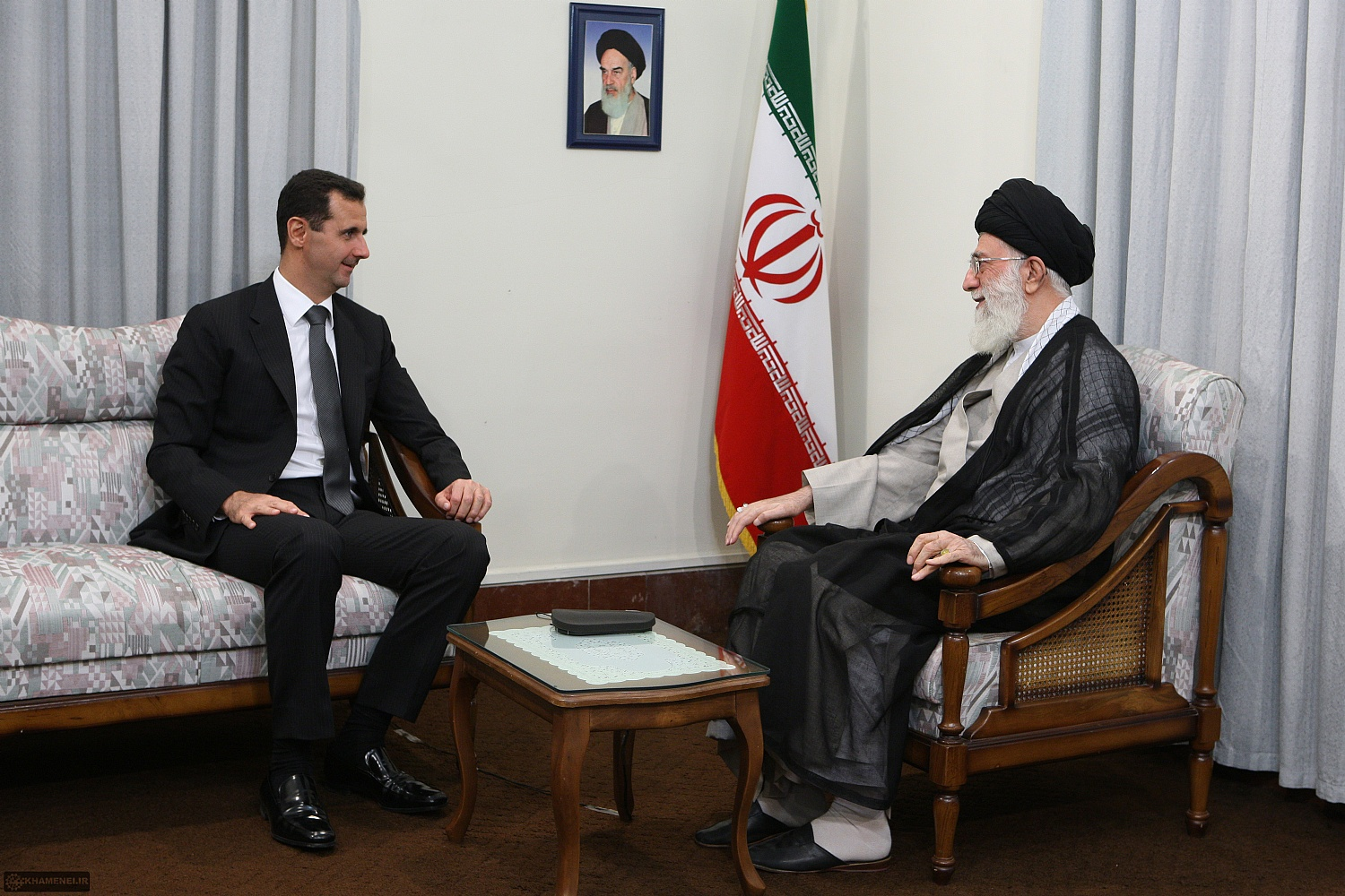Ali Khamenei :Any US Attack Against Assad Regime Will be 'Suicidal'